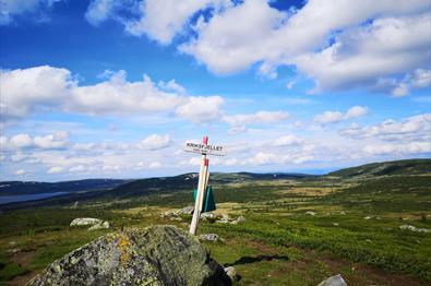 Rundtur over Kriksfjell (16 km)