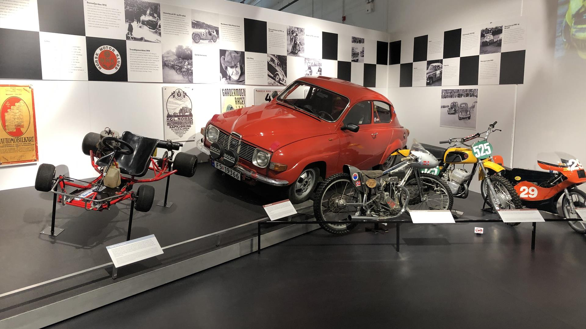 From the exhibition at Norwegian Vehicle Museum