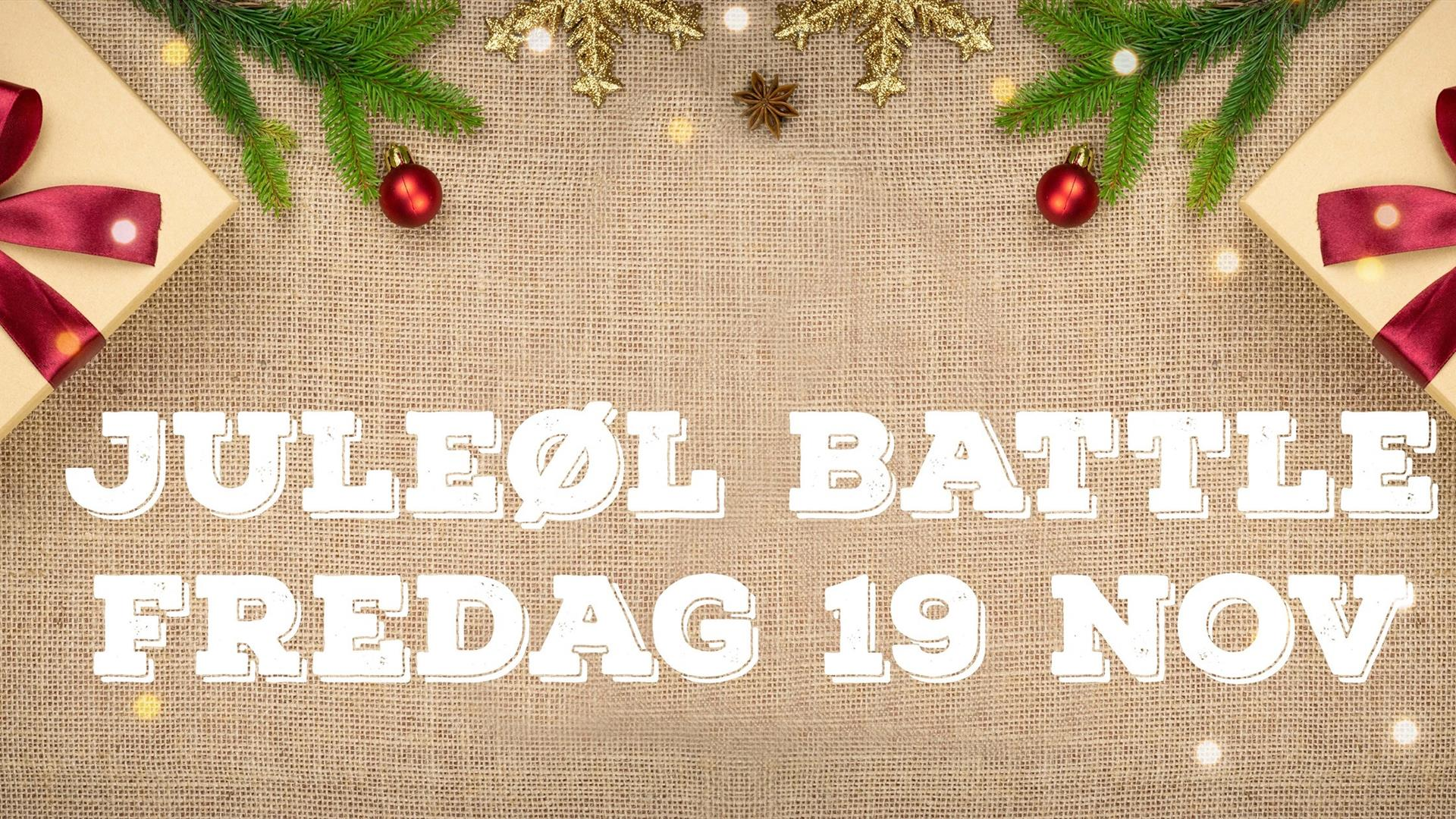 Juleøl battle