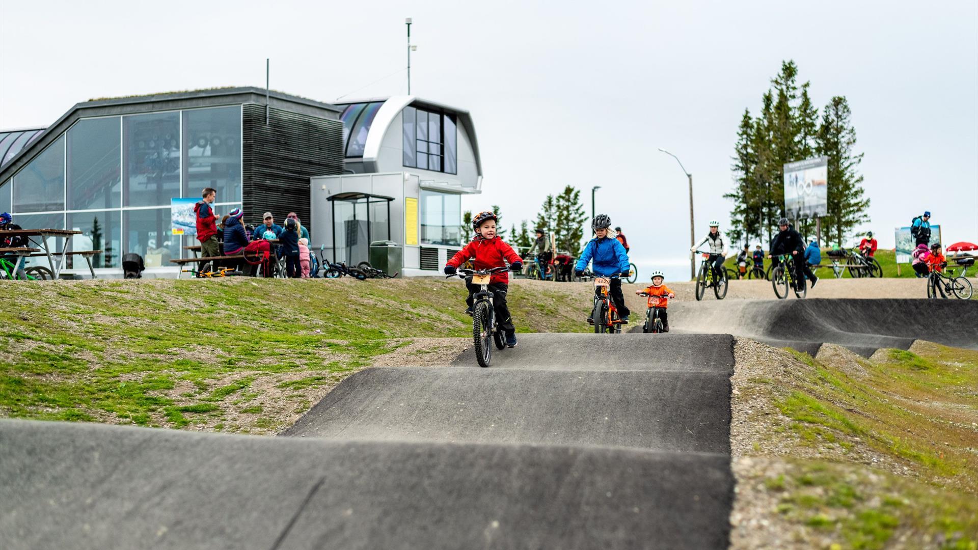 KidsPump i Hafjell Bike Park