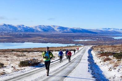Løpshelg med Skåbu Fjellmaraton og Jotunheimvegen Ultra 2021