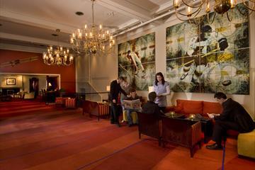 Lobby med gjester