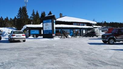 Nordseter Servicesenter, winter