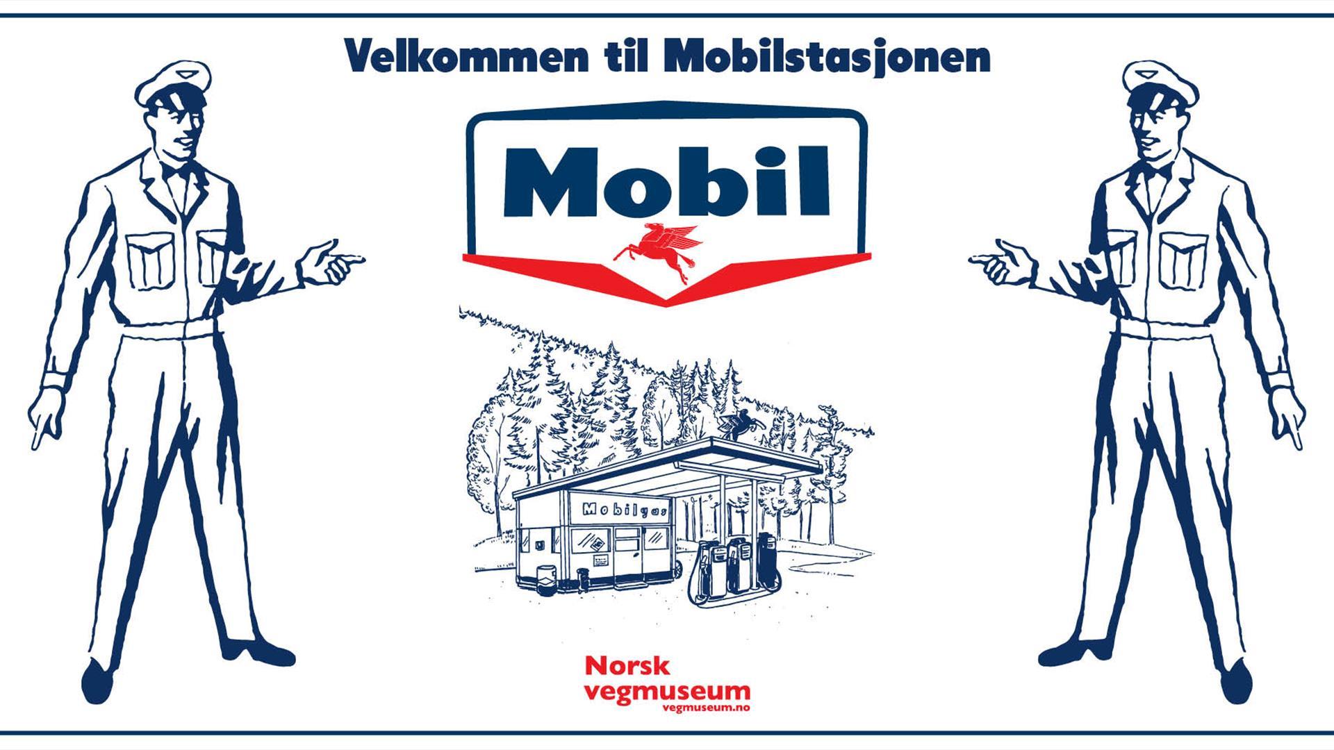 Mobilstasjonen på Norsk Vegmuseum