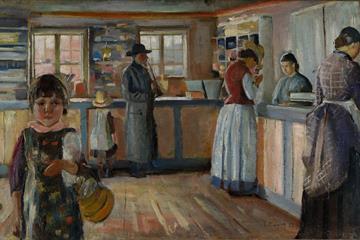 Munch Vrengen landhandel 1888