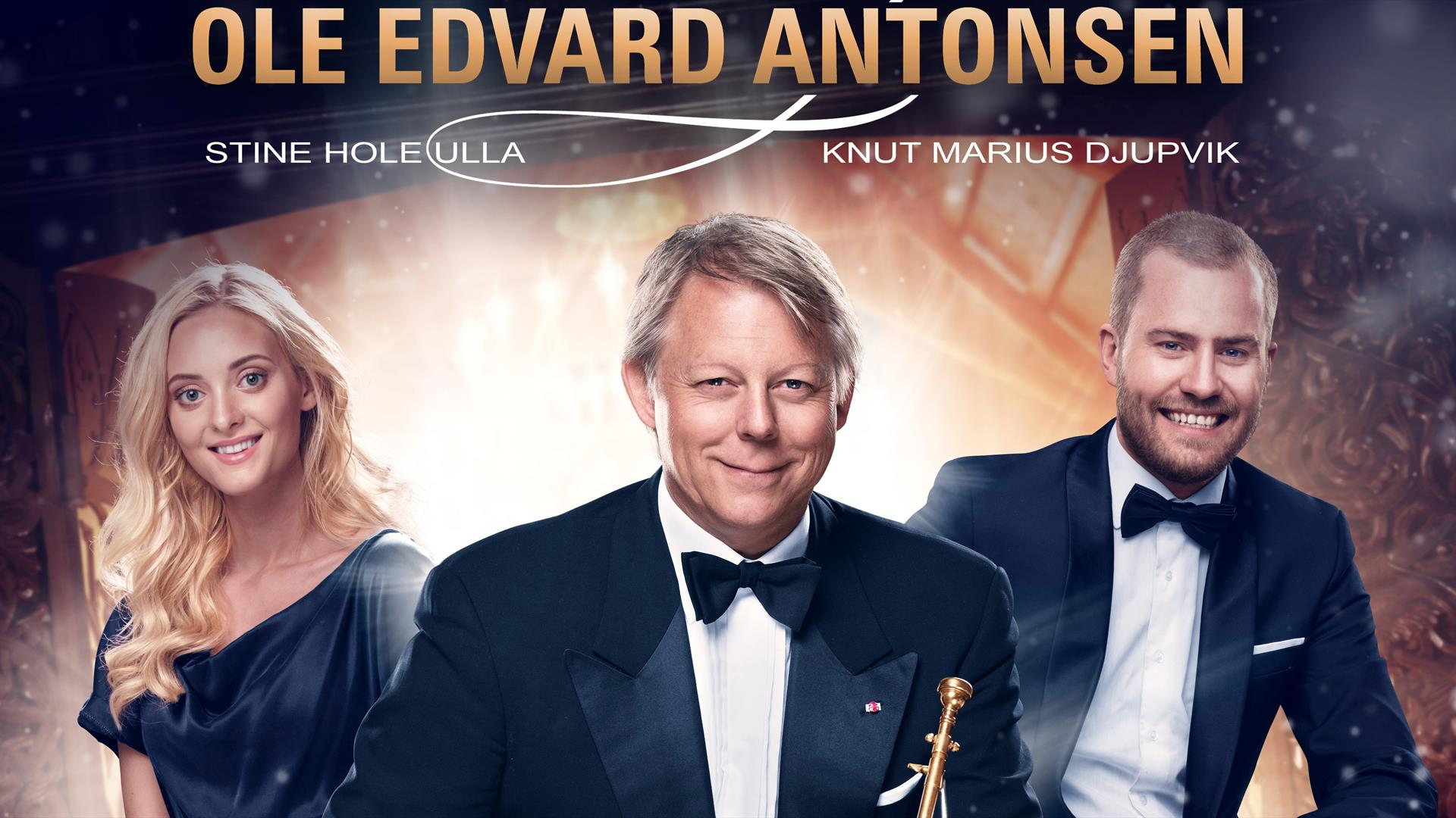 Konsert med Ole Edvard Antonsen og hans gjester.