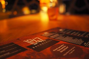 The menu at 1847 Brenneriet