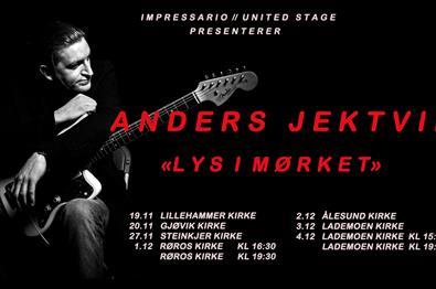 ANDERS JEKTVIK // LILLEHAMMER KIRKE KL 19:30