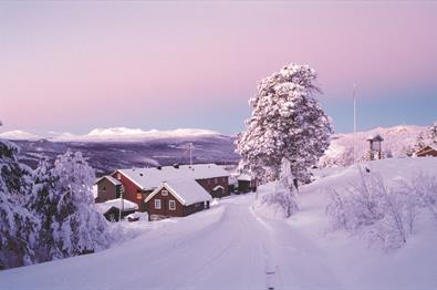 Ruten Fjellstue winter