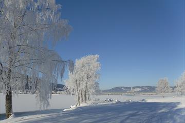 Wintertime along Mjøsa