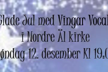 Glade jul med Vingar Vocale
