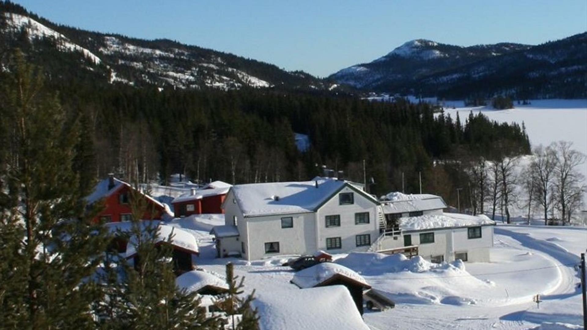 Strand Fjellstue vinterstid