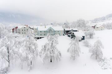 Dale-Gudbrands Gard i vinterprakt