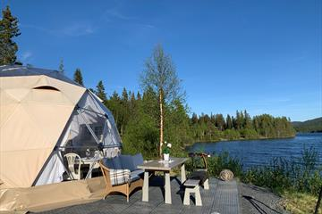 """Visit Dome by the """"Espedalsvannet"""""""
