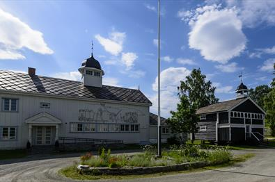 The main building, Dale-Gudbrands Gard