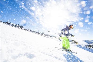 Alpine skiing in Hafjell