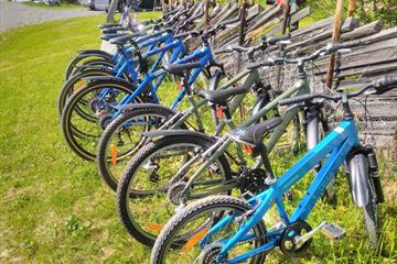 Bicycle rental at Strand Fjellstue