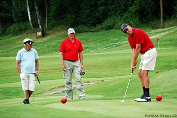 Golf players at the