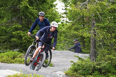 Sjusjøen Mountain Bike Park