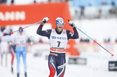 World Cup Lillehammer, Martin Jonsrud Sundby
