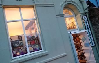 The Old Hall Bookshop - shopfront