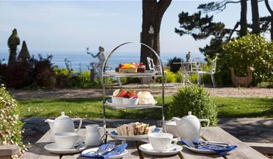 Afternoon Tea at Talland Bay Hotel