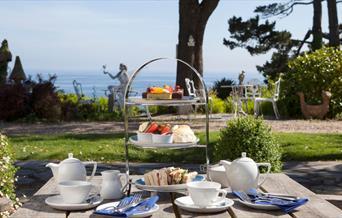 Afternoon Tea at Talland Bay Hotel