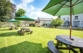 Killigarth - Beer garden