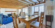 Lerryn Cottage - dining area