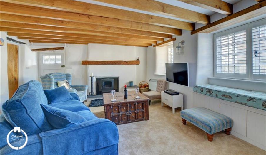 Lerryn Cottage - living area