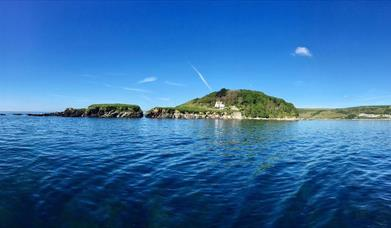 Looe Island from the East
