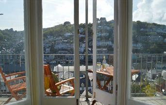 Penwyn - view from balcony