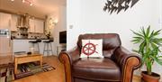 Plaidy Apartment - large armchair
