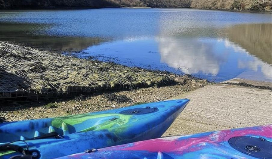 Kayaks provided by Adventure Fit Southwest