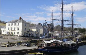 St Austell town and harbour