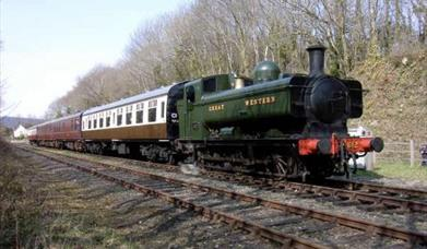 Bodmin and Wenford Railway Steam Train