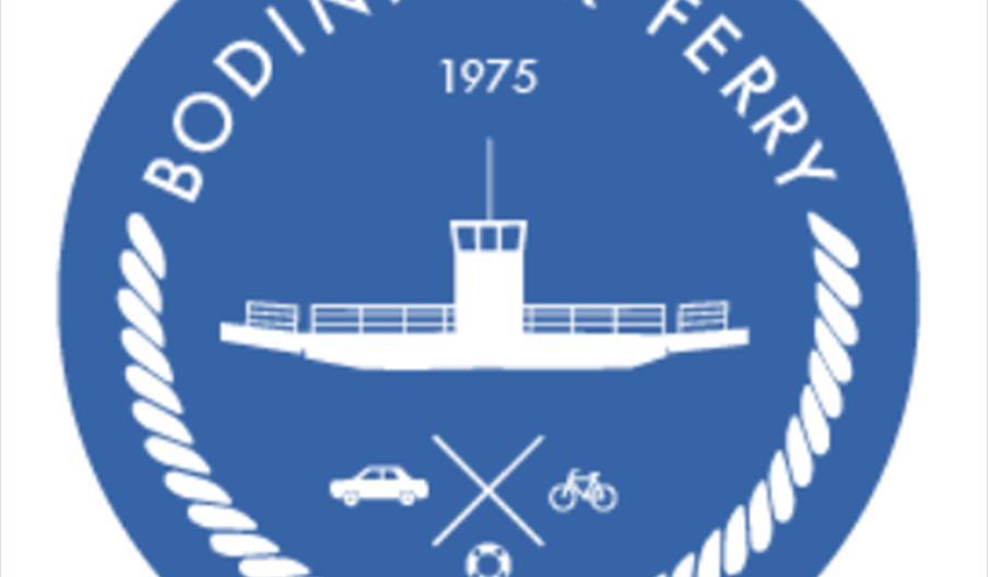 Bodinnick Ferry logo
