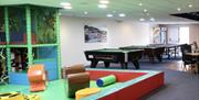 Tregoad Holiday Park games room