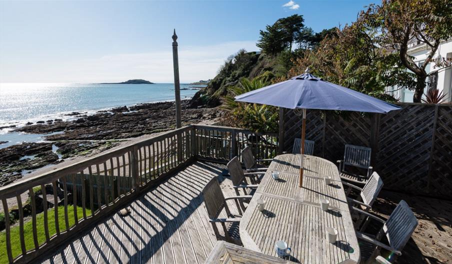 Seaside House - Deck area