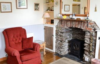 Sunrise Cottage - Cosy Living Room