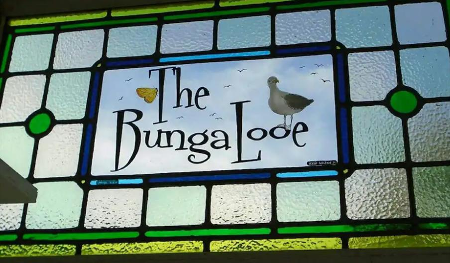 The Bungalooe - Stained Glass window