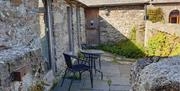 Treargel - Patio at The Piggery