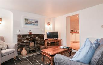 Bay Tree Cottage - living area