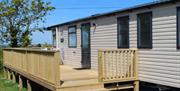 Looe Country Park - static caravans
