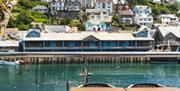 Portbyhan Hotel - terrace view