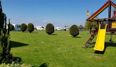 Camping Caradon - play area