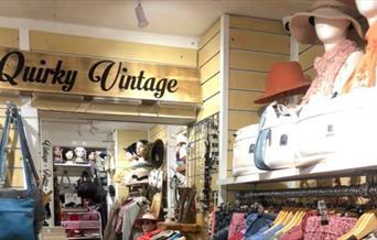 Quirky Boutique - shop interior