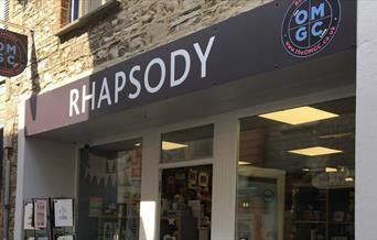 Rhapsody - shopfront