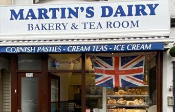 Martin's Dairy - shopfront