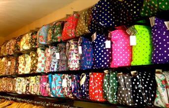 Mad House - handbag display